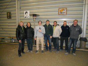 Christel, Thanh, Steffen, Roland, Bart, Reiner, Klaus