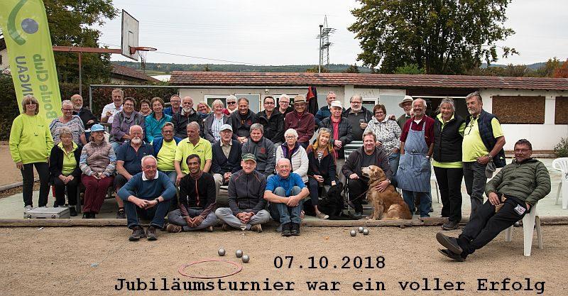 Jubiläumsturnier 07.10.2018
