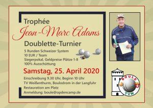 ABGESAGT !!!! Doublette-Turnier Boule TV Weißenthurm @ TV Weißenthurm, Boulodrom an der Langfuhr